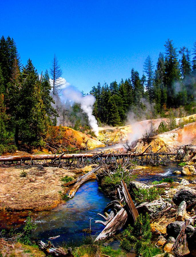 Lassen Volcanic National Park Devil's Kitchen Photograph ...