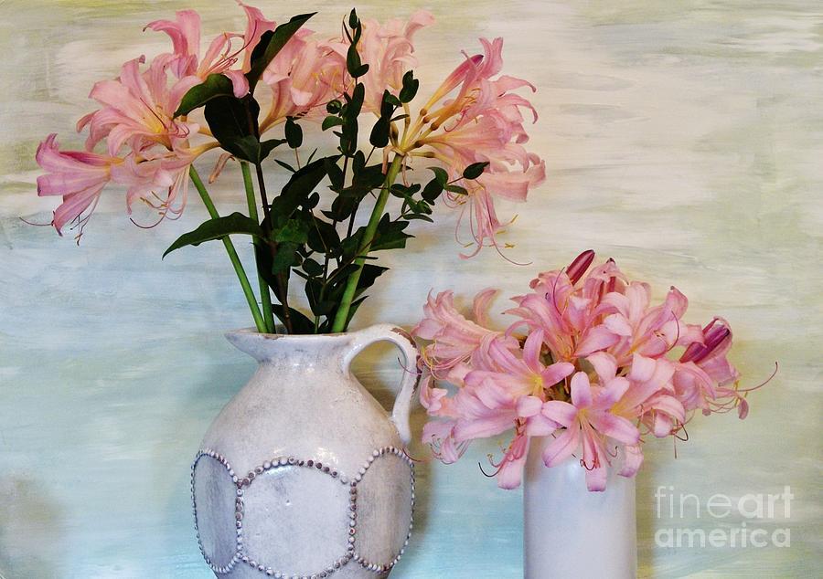 Photo Photograph - Last Of My Lilies by Marsha Heiken