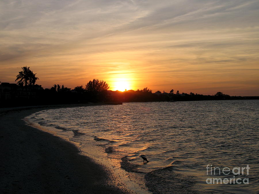 Sunset Photograph - Last Rays Of Sun by Christiane Schulze Art And Photography