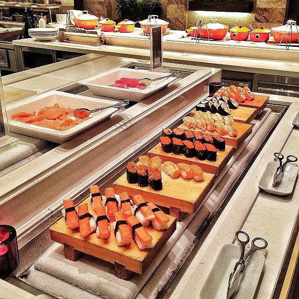 Sweet Photograph - Late Buffet - Sushi by Arya Swadharma