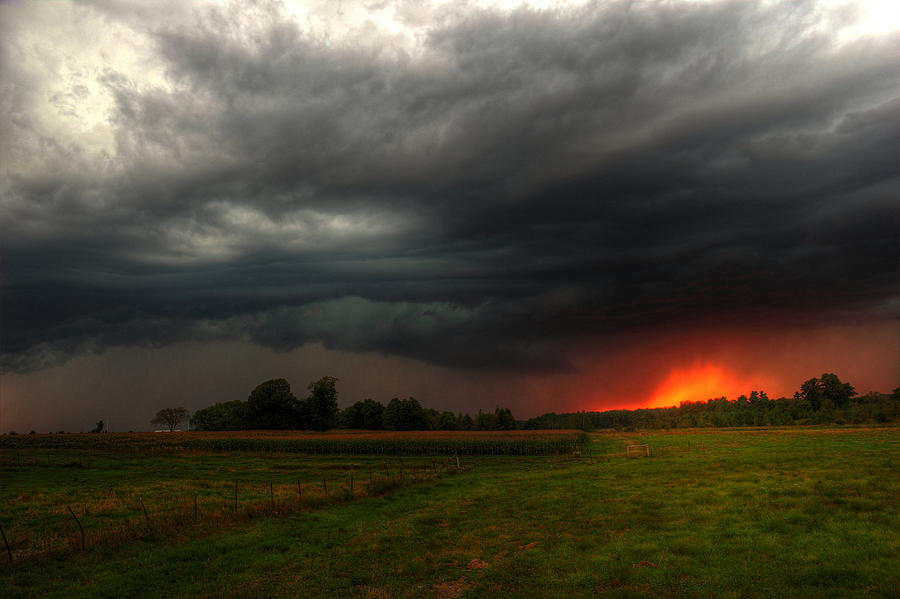 Late Summer Storm Photograph By Brook Burling