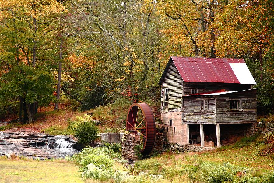 Mii Photograph - Laudermilk Mill by Rick Mann