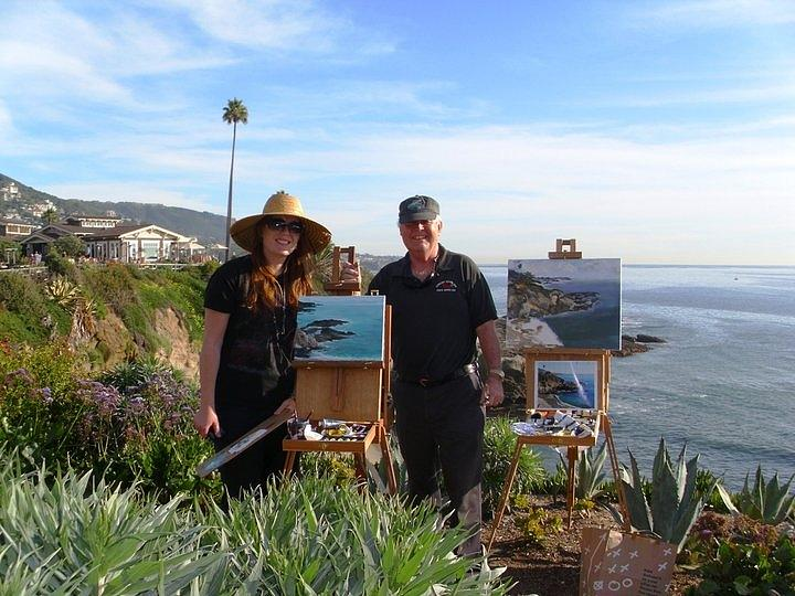 California Photograph - Laurel And I Painting by Randy Sprout