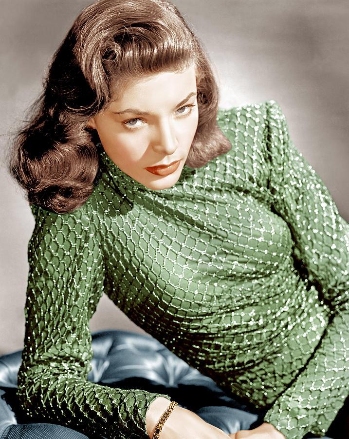 1940s Portraits Photograph - Lauren Bacall, Ca. 1946 by Everett