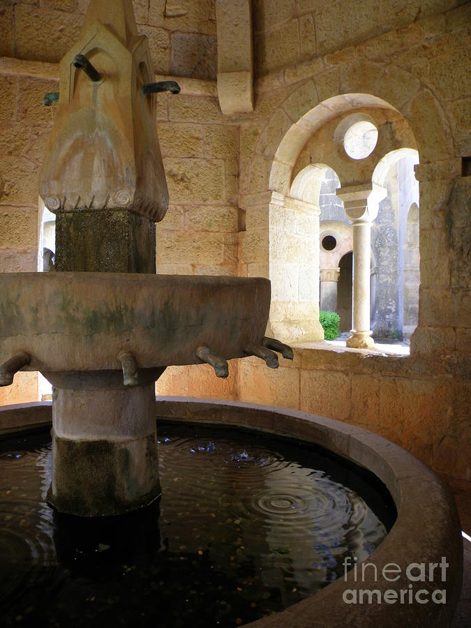 Fountain Photograph - Lavabo by Lainie Wrightson