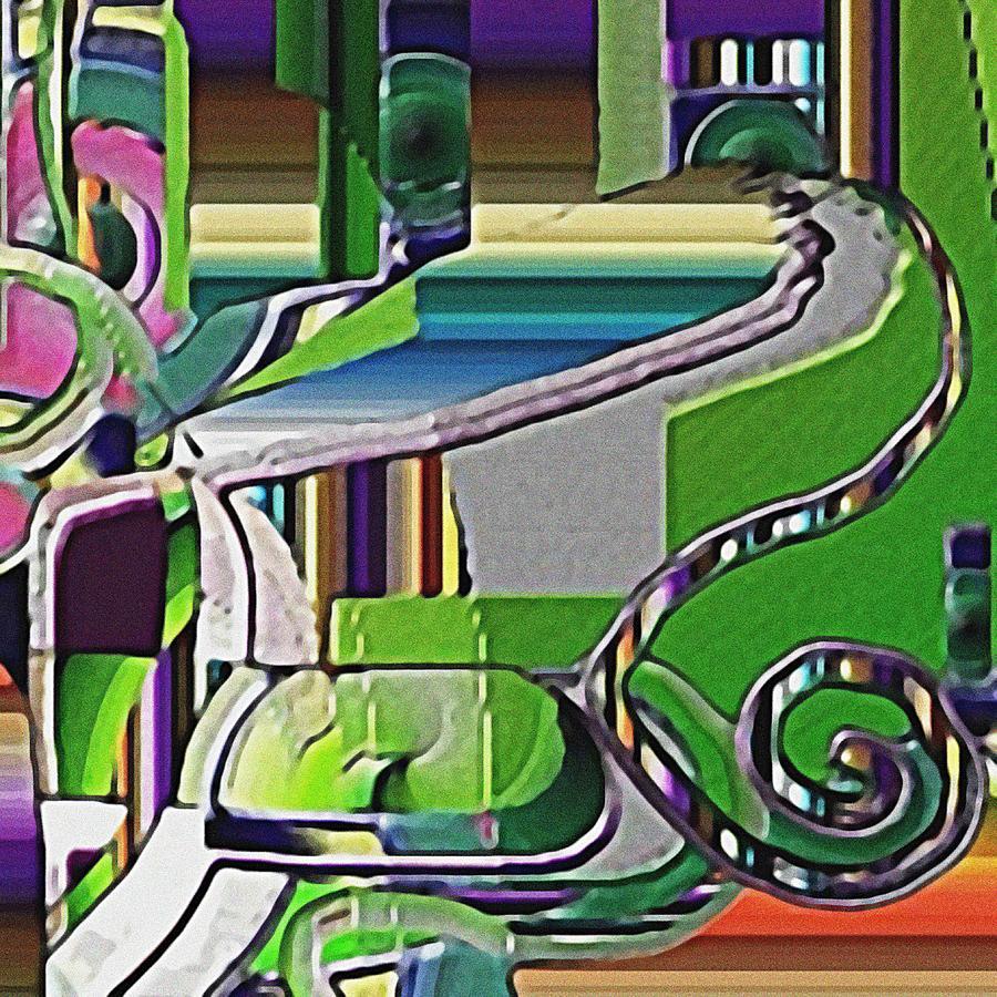 Lawn Digital Art by Dave Kwinter