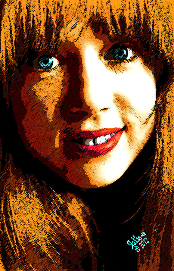 Layla Digital Art - Layla by Che Rellom