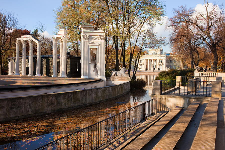 Lazienki Photograph - Lazienki Park In Warsaw by Artur Bogacki