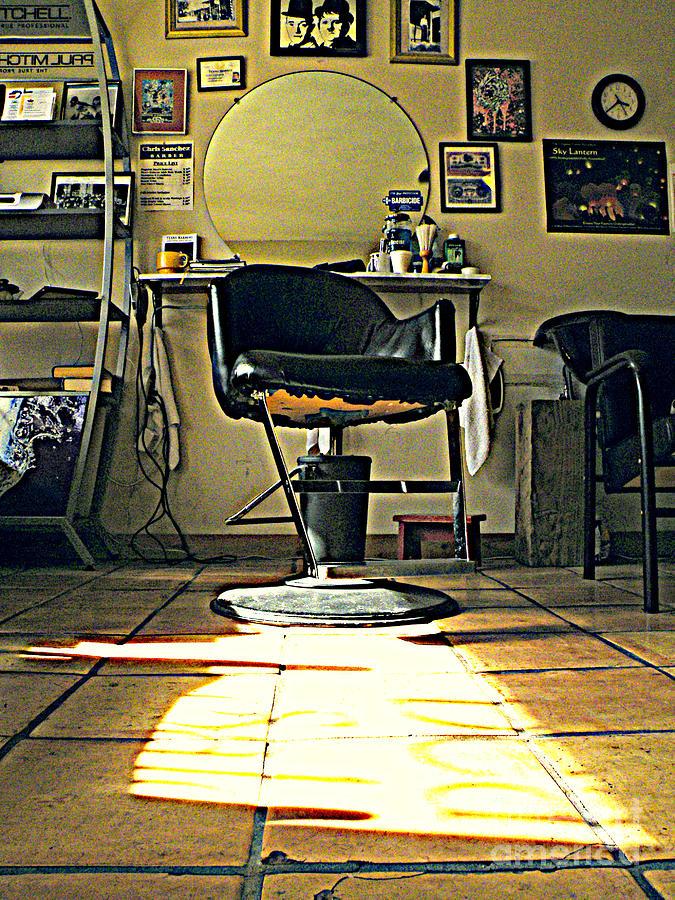 Barber Shop Photograph - Lazy Day by Joe Jake Pratt