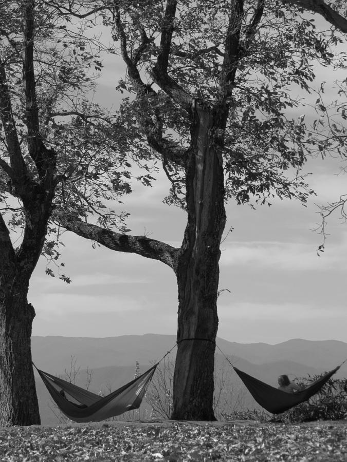 Black And White Photograph - Lazy Days by Ginger Adams