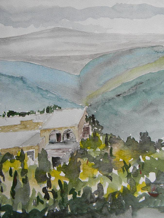 Lebanon Painting - Le Liban Perdu 2 by Marwan George Khoury