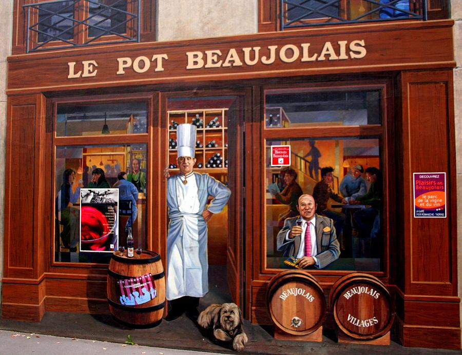 Le Pot Beaujolais Photograph - Le Pot Beaujolais by Laurel Talabere
