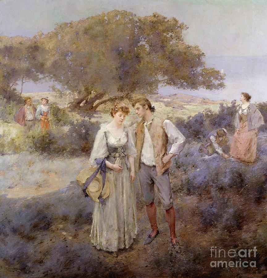 Le Retour De Cythere Painting - Le Retour De Cythere by William Lee