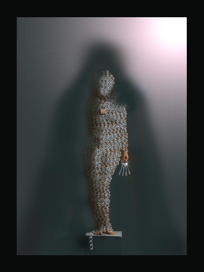 Keys Digital Art - Lead Into Temptation by LeAnne Hosmer