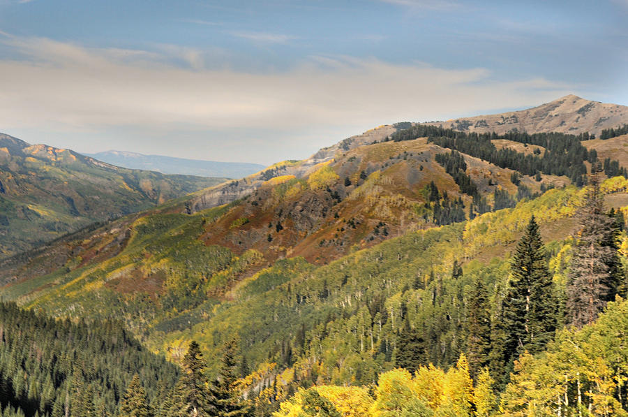 Mountains Photograph - Lead King Basin Road 2 by Marty Koch