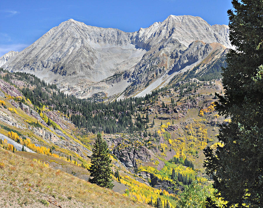 Mountains Photograph - Lead King Basin Road 3 by Marty Koch