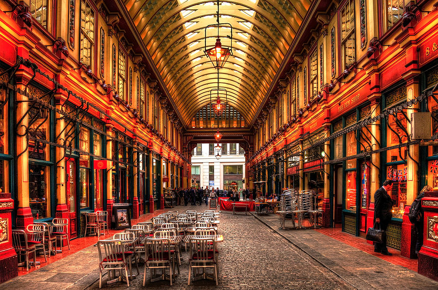 Leadenhall Market Interior Photograph by Svetlana Sewell