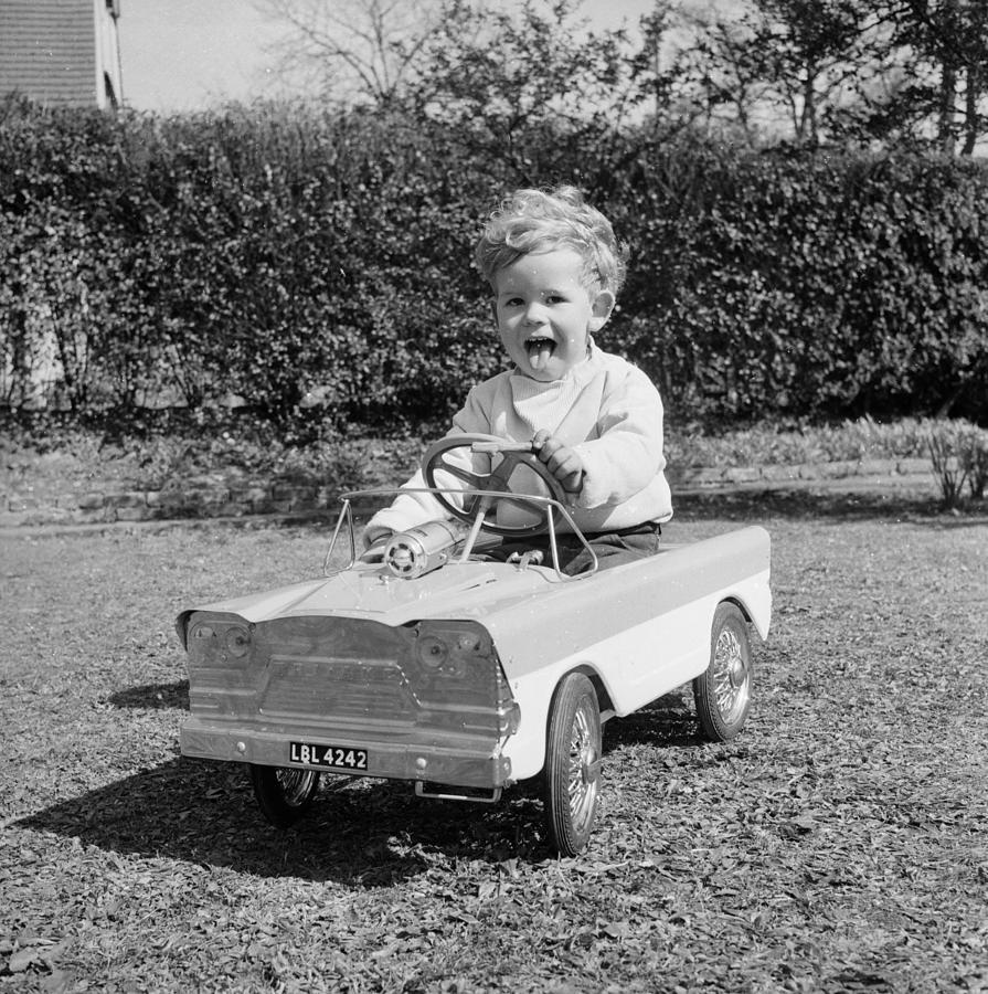 Child Photograph - Learner Driver by John Pratt