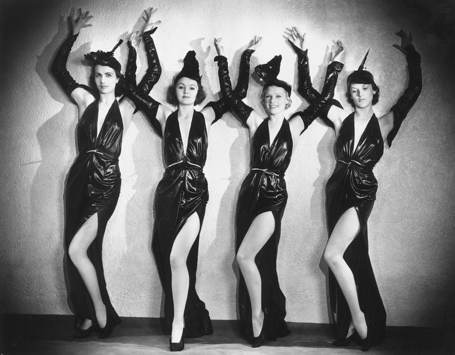 Adult Photograph - Leather Dancers by Sasha