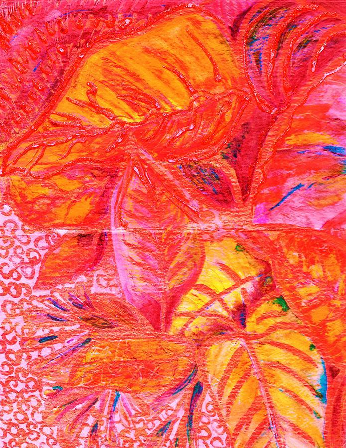 Leaves Painting - Leaves For Leslie by Anne-Elizabeth Whiteway