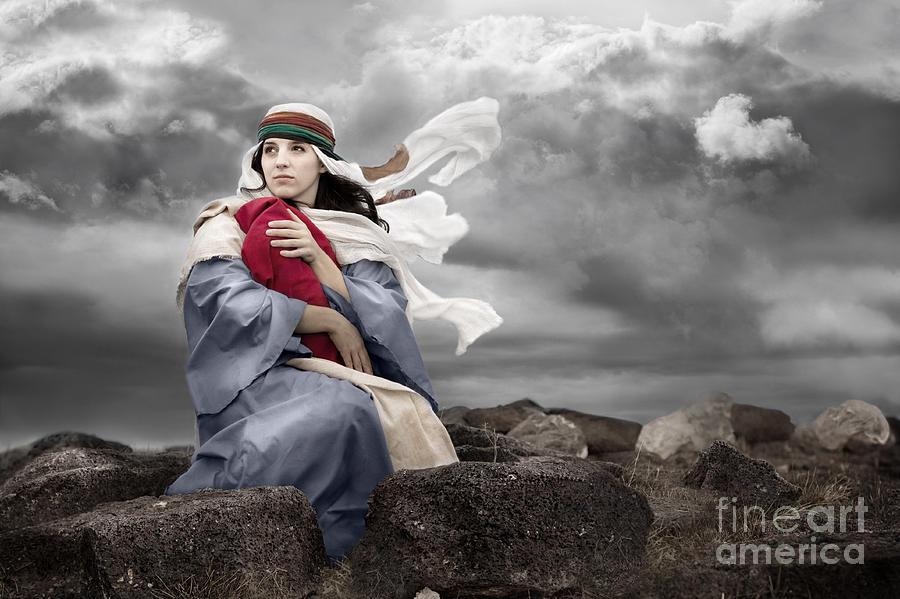 Christmas Photograph - Leaving Bethlehem by Cindy Singleton