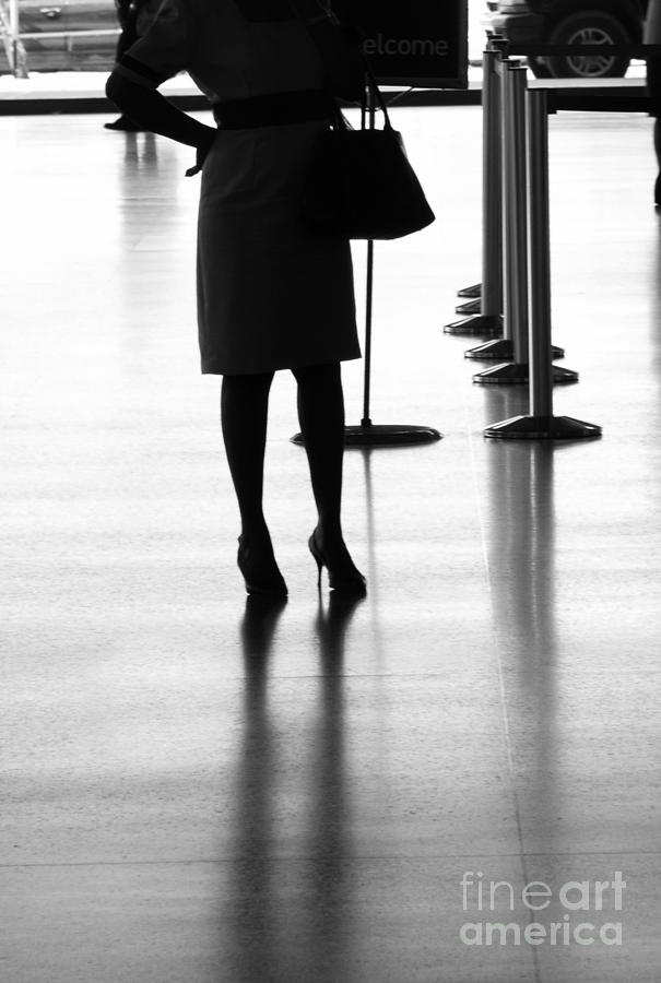 Lady Photograph - Leaving On A Jet Plane by Rene Triay Photography