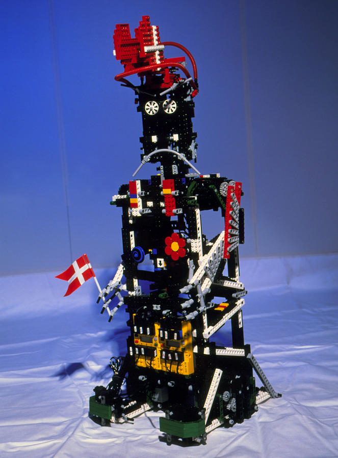 Robot Photograph - Lego Humanoid Robot Known As Elektra by Volker Steger