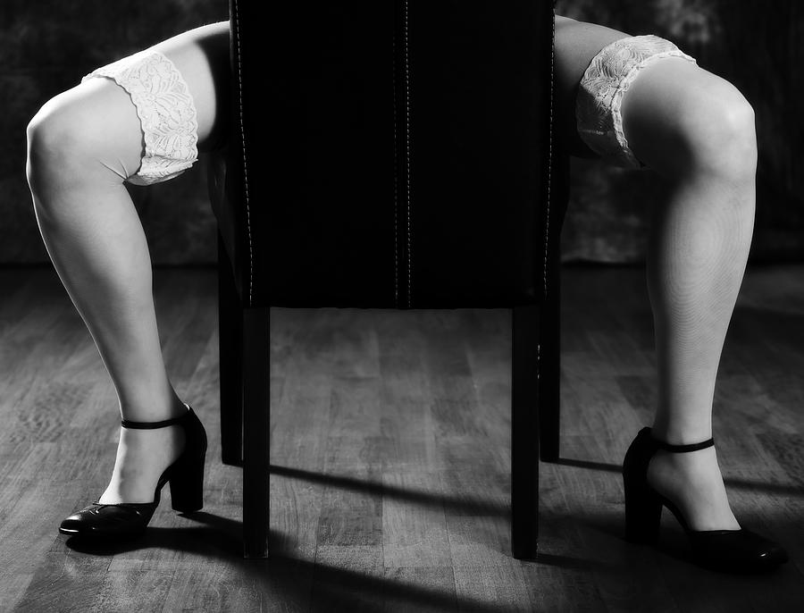 Woman Photograph - Legs by Joana Kruse