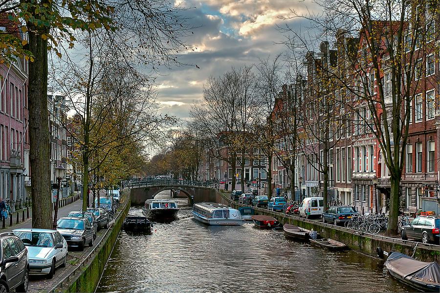 Holland Amsterdam Photograph - Leidsegracht. Amsterdam by Juan Carlos Ferro Duque