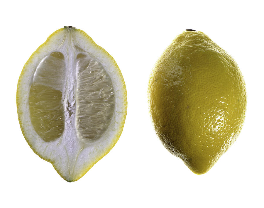 Fruit Photograph - Lemon by Nathaniel Kolby