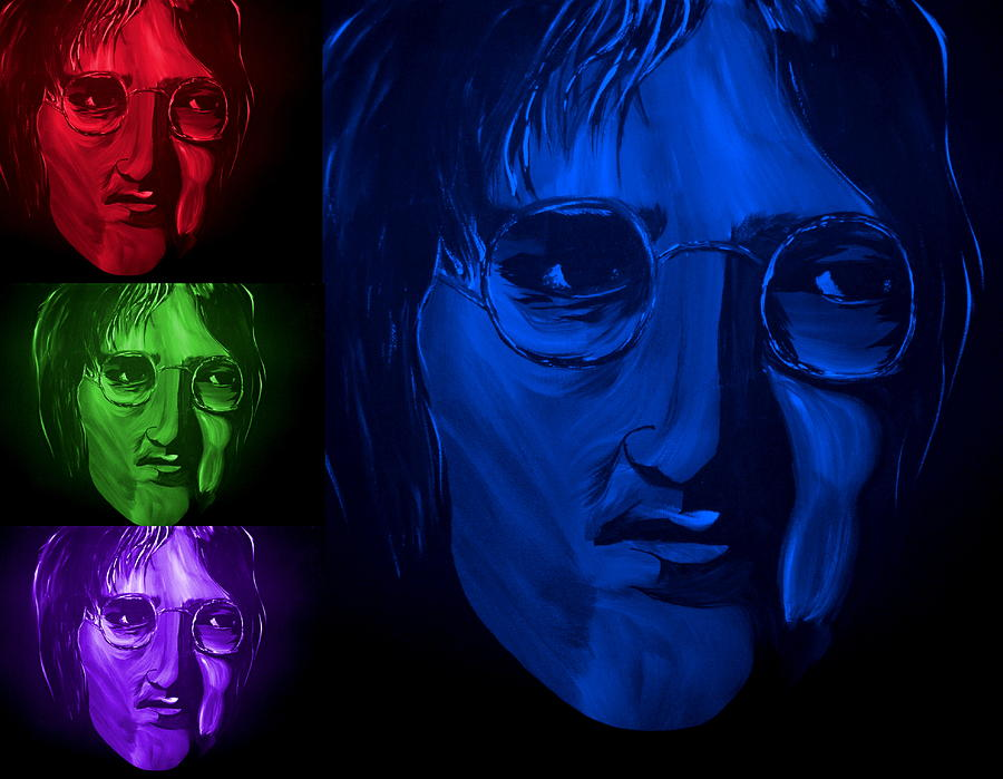 John Painting - Lennon The Legend by Mark Moore