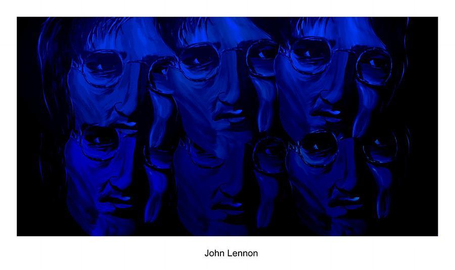 Mark Digital Art - Lennons World by Mark Moore