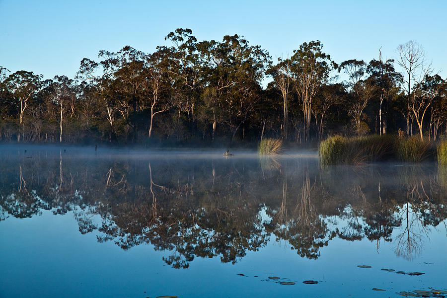 Australian Landscape Photograph - Lenthall Dam 05 by David Barringhaus