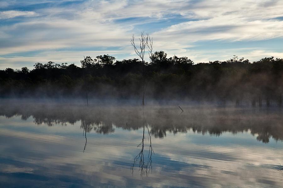 Australian Landscape Photograph - Lenthalls Dam 10 by David Barringhaus