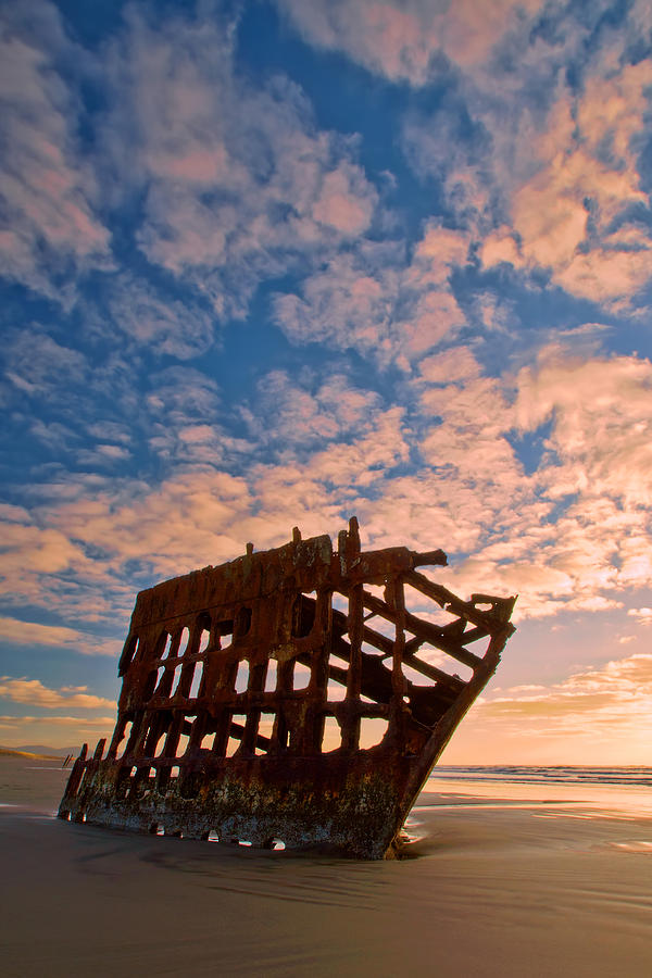 Peter Iredale Photograph - Leopard Clouds by Dan Mihai