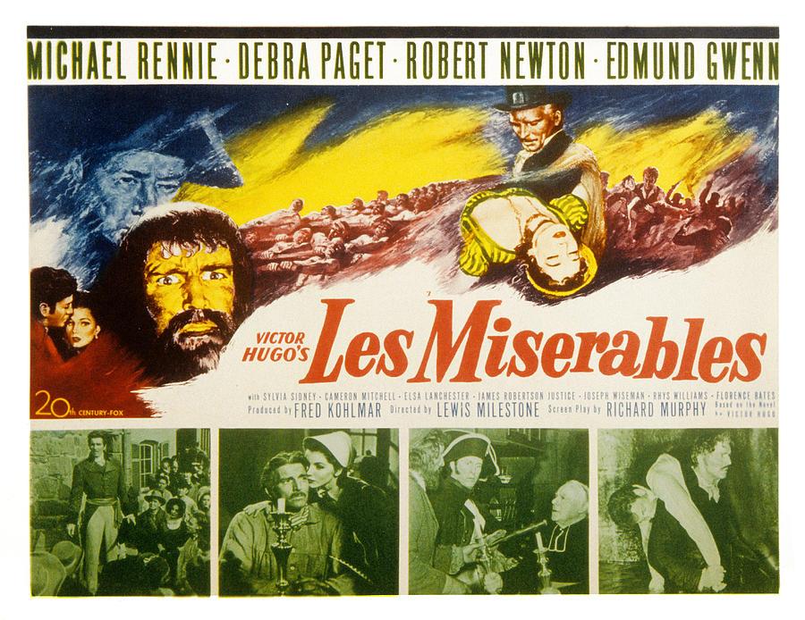 Fid Photograph - Les Miserables, Michael Rennie, Debra by Everett
