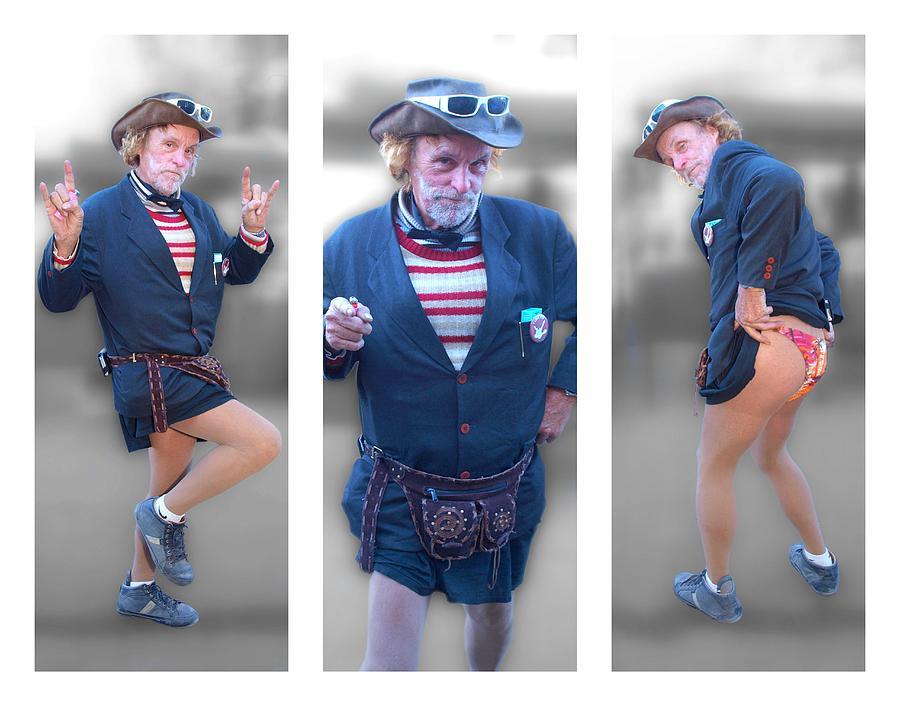 Leslie Cochran Collage 3 - 11x14 Aspect Photograph by James Granberry