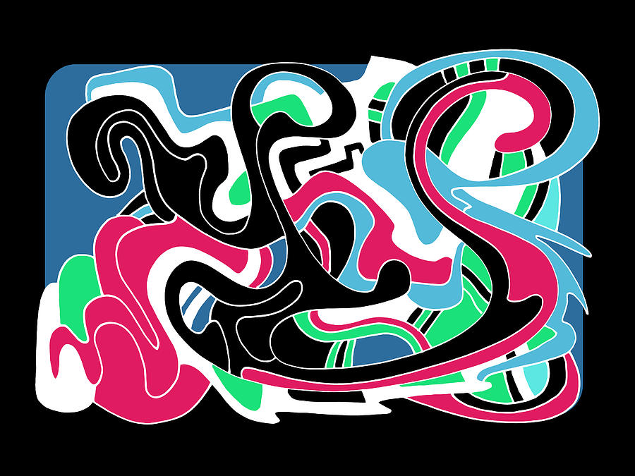 Flow Drawing - Let It Flow by Noah Hornberger