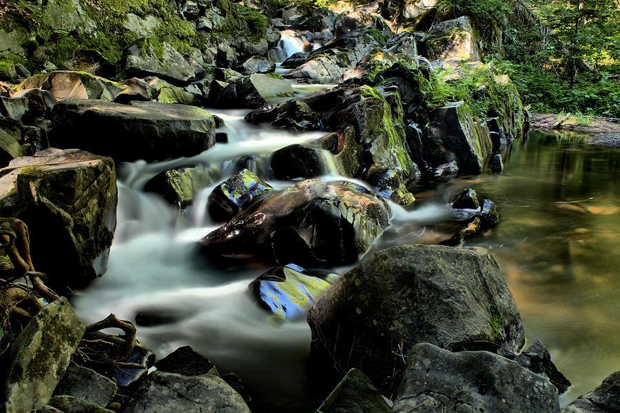 Letherby Falls Photograph - Letherby Falls by Matthew Winn