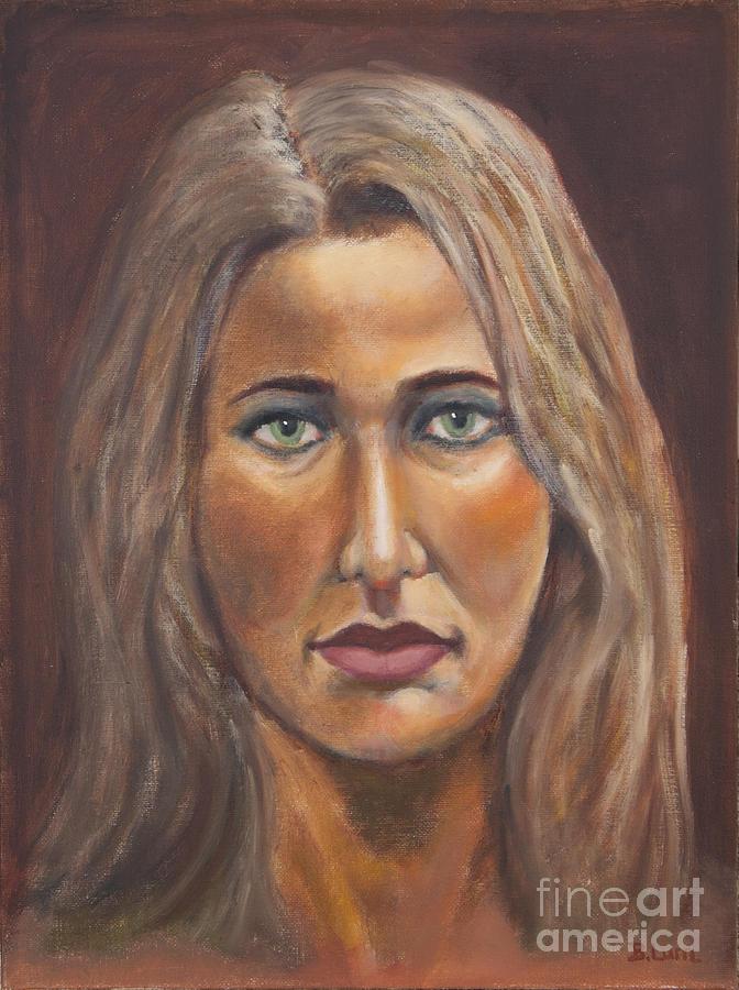 Portrait Painting - Letitia by Bruce Lum