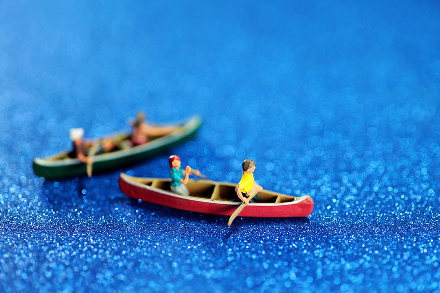 Surreal Photograph - Lets Boating Together by Paul Ge
