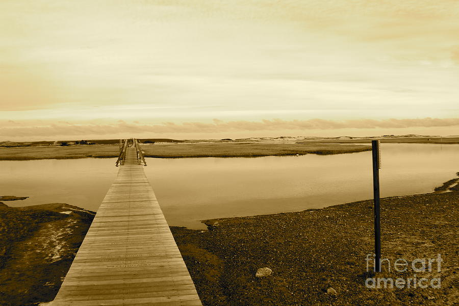 Boardwalk Photograph - Lets Take A Walk by Eric Chapman