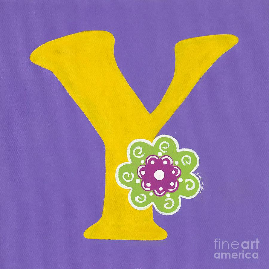 Letter y in bloom painting by celebratta celebratta alphabet painting letter y in bloom by celebratta celebratta sciox Image collections