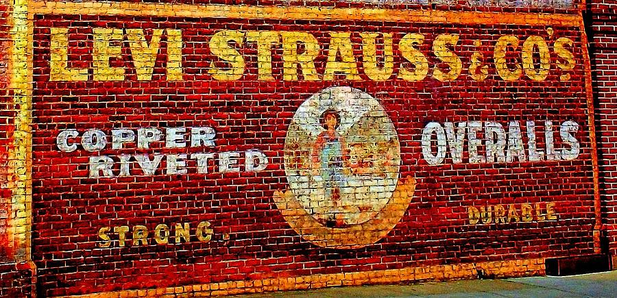 Levi Photograph - Levi Strauss by Randall Weidner
