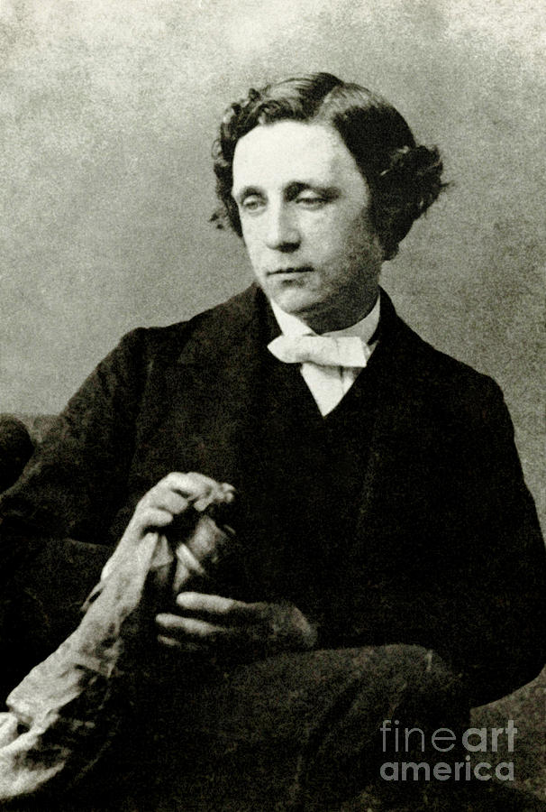Alice In Wonderland Photograph - Lewis Carroll, English Author by Photo Researchers