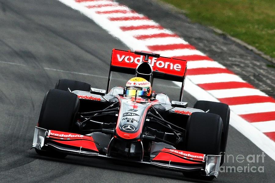 Lewis Hamilton - Mclaren F1 Photograph by David Smith