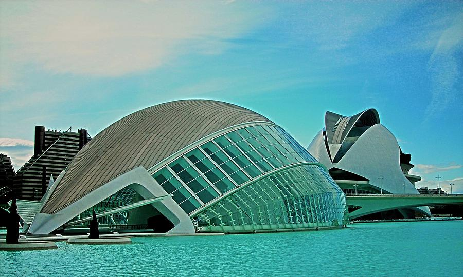Europe Photograph - Lhemisferic - Valencia by Juergen Weiss