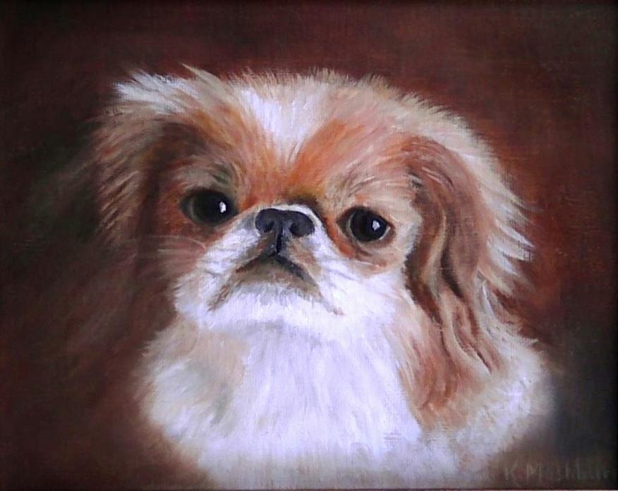 Animal Portraits Painting - Li Ming by Kay Mashburn