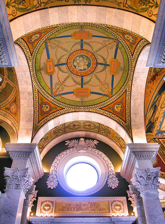 Building Photograph - Library Of Congress I by Steven Ainsworth