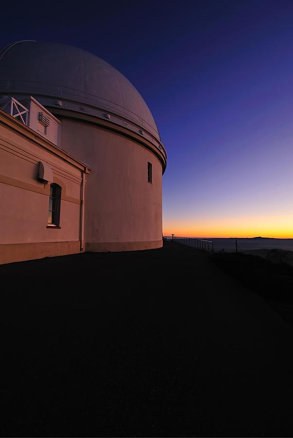 Observatory Photograph - Lick Observatory by Richard Leon